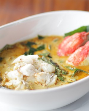 Thai Southern Curry with Crab Meat and Local Herbs