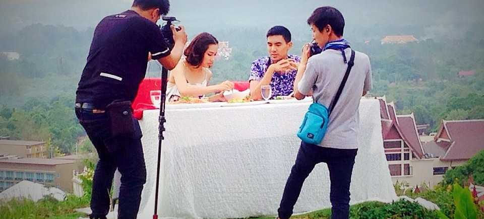 The Hilltop Restaurant on Thai Channel 3 Live